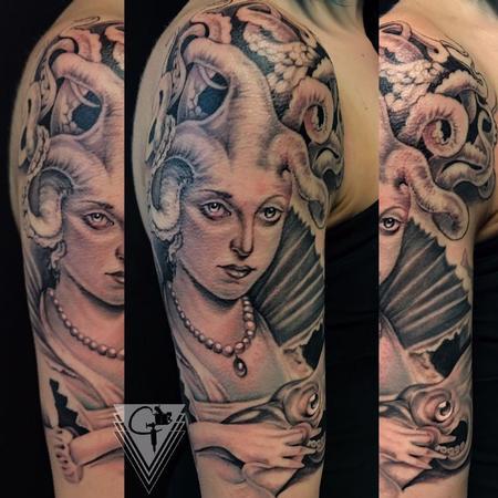 Tattoos - Squid godess - 131776