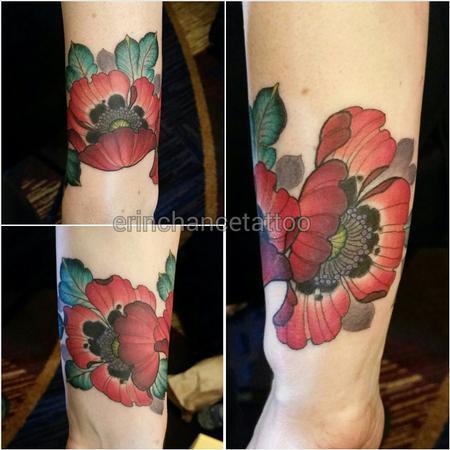 Tattoos - Poppy cuff - 96225