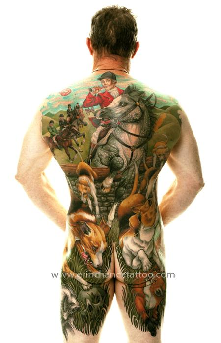 Tattoos - Fox Hunt - 93414