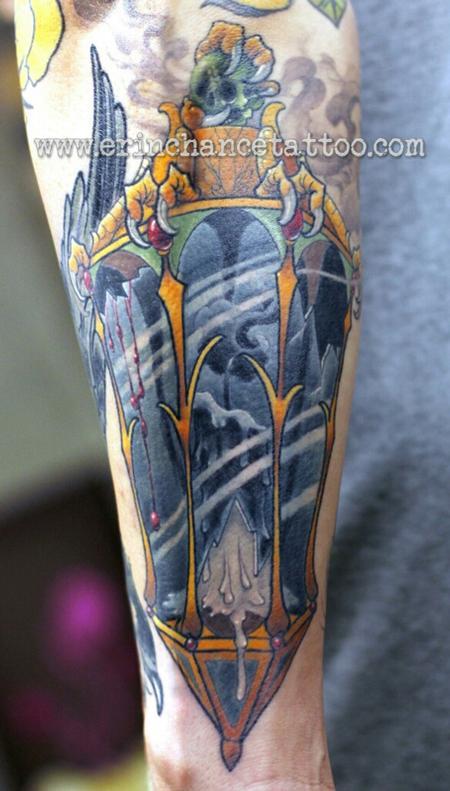 Tattoos - Lantern - 93419