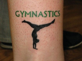 Stacey Blanchard - Gymnastics Ankle