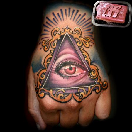 Tattoos - All Seeing Eye Tattoo - 62179