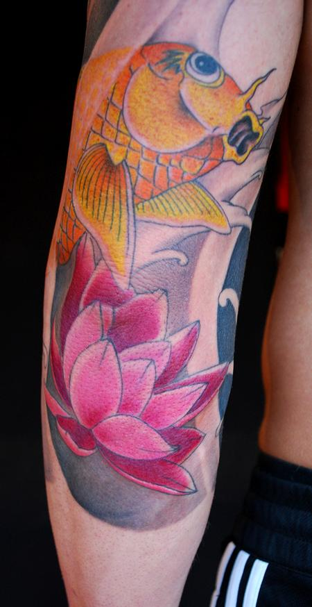 Tattoos - 3/4 sleeve detail - 54776