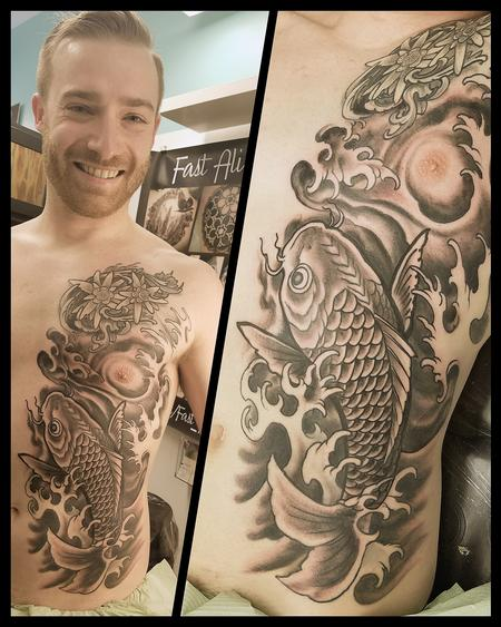 Tattoos - Joe's rib panel - 126502