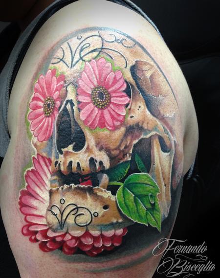Tattoos - SUGAR SKULL  - 91681