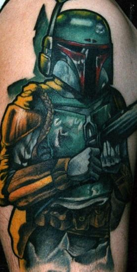 Tattoos - Boba Fett - 75278