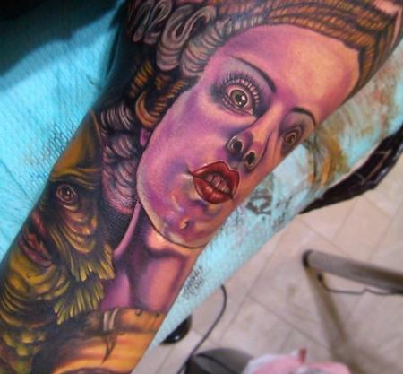 Tattoos - The Bride of Frankenstein - 126771