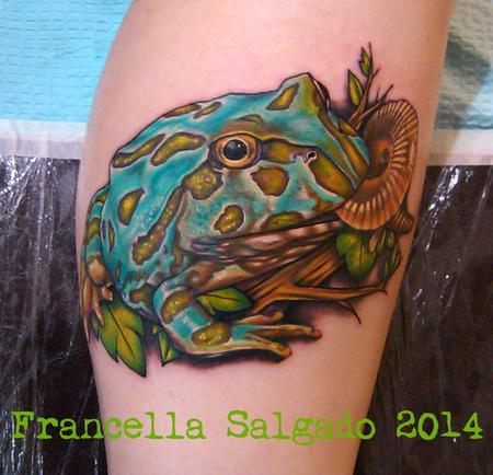Tattoos - Pacman Frog - 126493