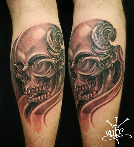 Tattoos - Skulls Tattoo - 50594