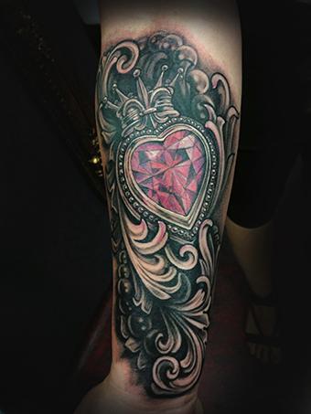 Tattoos - Filligre and Locket - 78090