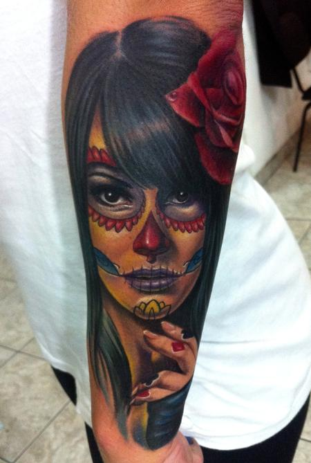 Tattoos - Day of the dead - 67805