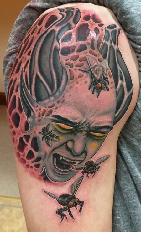 Tattoos - Beelzebub, lord of the flies - 99402