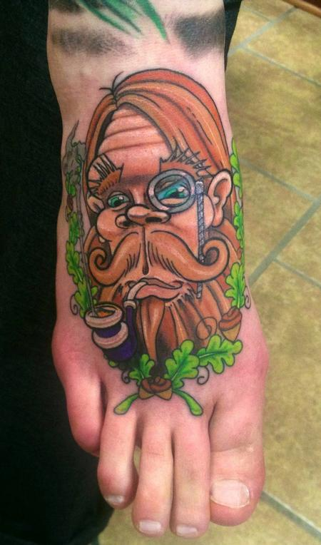 Tattoos - Gentleman Sasquatch - 76006