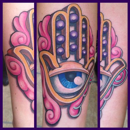 Tattoos - Hamsa - 87633