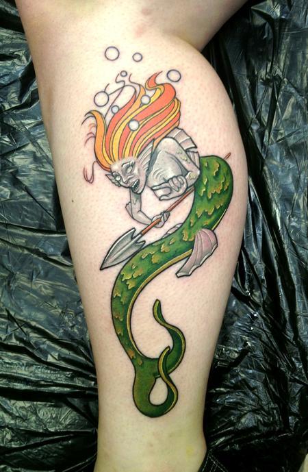 Tattoos - Mermaid - 76033