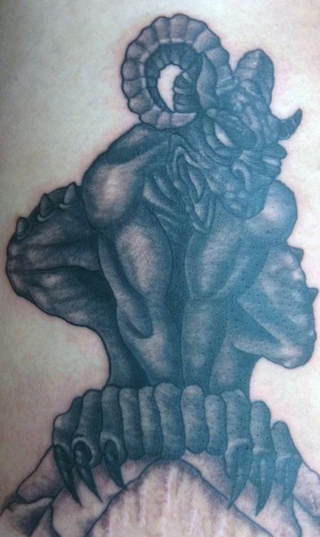 Tattoos - gargoyle - 58610