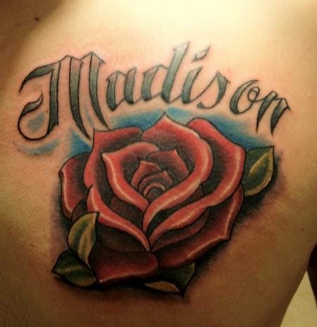 Tattoos - Madison Rose - 60901