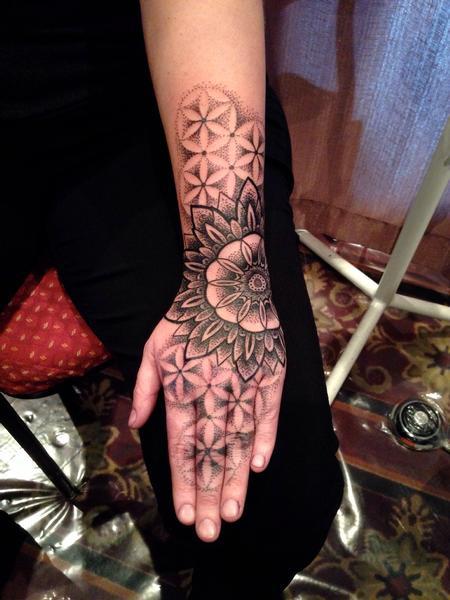 Tattoos - FOL hand - 99967