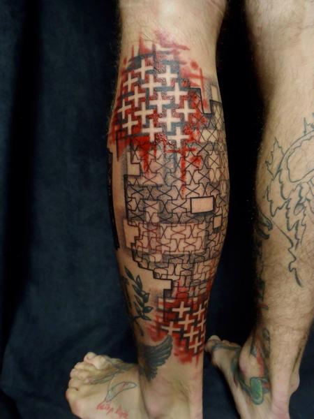 Tattoos - Abstract patterns - 99980