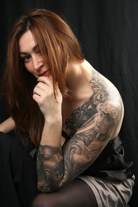 Tattoos - stéphane chaudesaigues. tattoo. tatouage.paris. avignon. - 56581