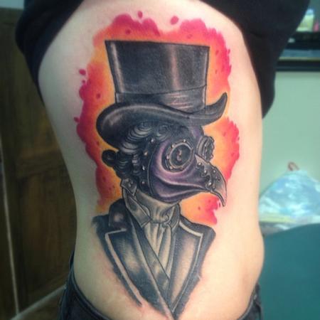 Tattoos - plague doctor - 79236