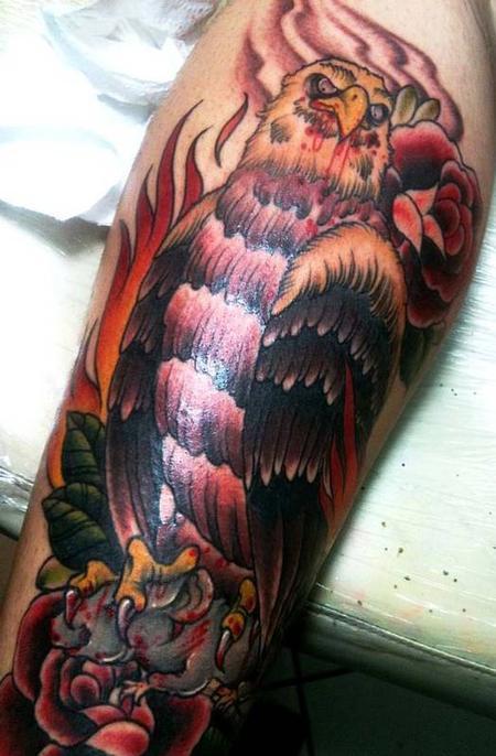 Tattoos - Eagle Tattoo - 68040
