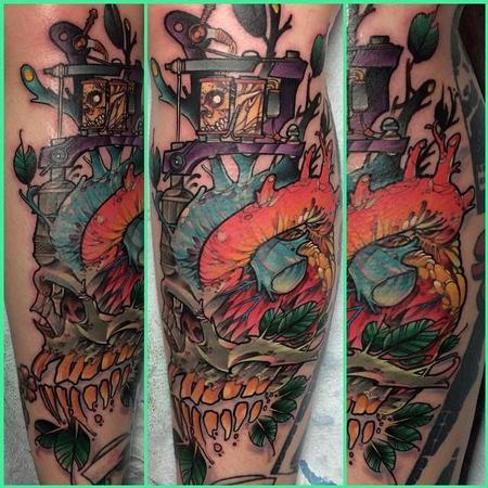 Tattoos - Machine Heart - 101977