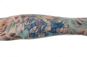 Tattoos - Transformer Tattoo - 51913