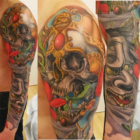 Tattoos - full color japanese sleeve - 84251