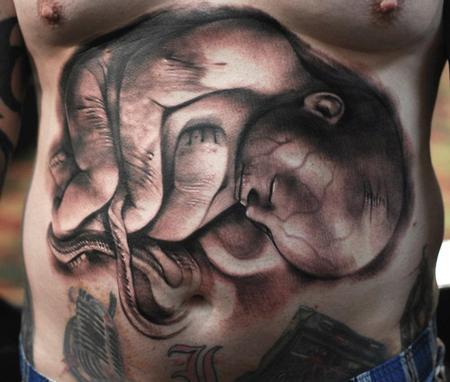 Tattoos - Zombie Fetus - 64992