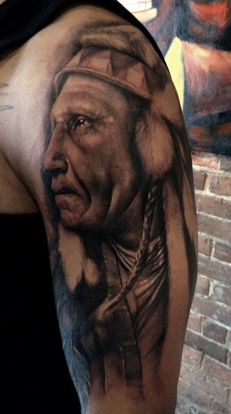 Ryan Hadley - Native American