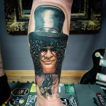 Tattoos - Slash Portrait - 119064