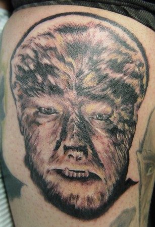 Tattoos - Wolfman Portrait  - 36446