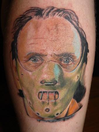 Tattoos - Hannibal Lector Tattoo - 36447