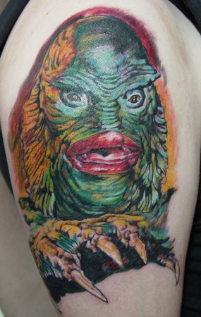 Tattoos - Creature from the Black Lagoon - 36450