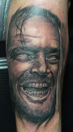 Tattoos - The Shining Portrait: Jack Nicholson - 36451