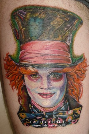 Carter Moore - Johnny Depp as the Mad Hatter
