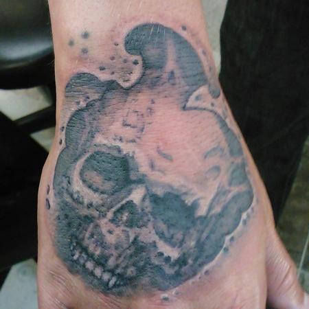 Tattoos - Skully Handjobber - 122622