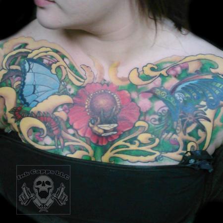 Tattoos - Flower Heart - 123577