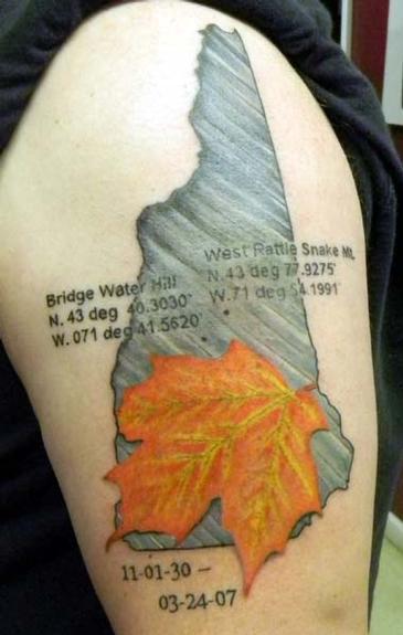 Tattoos - New Hampshire Tribute - 53420