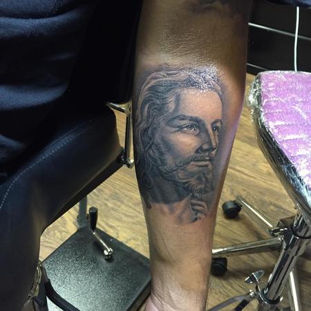 Tattoos - Jesus - 123435