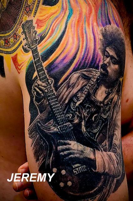 Tattoos - Jimmy Hendrix - 61202