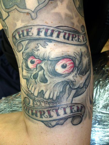 Tattoos - Skull - 61373