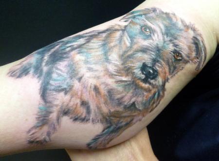 Tattoos - portrait of dog - 61384