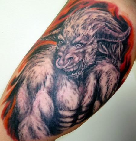 Tattoos - Taurus Bull - 61588