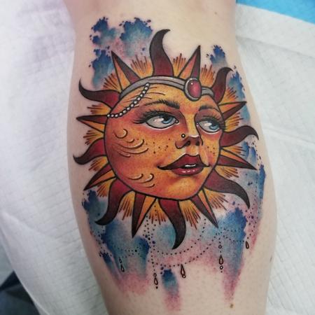 Tattoos - Sun - 132427