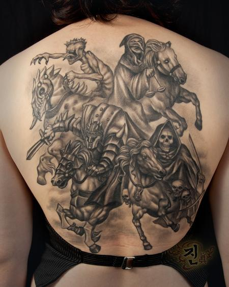 Tattoos - Four Horsemen of the Apocolypse - 94949