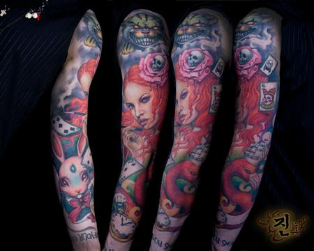 Tattoos - Alice in Wonderland - 94942