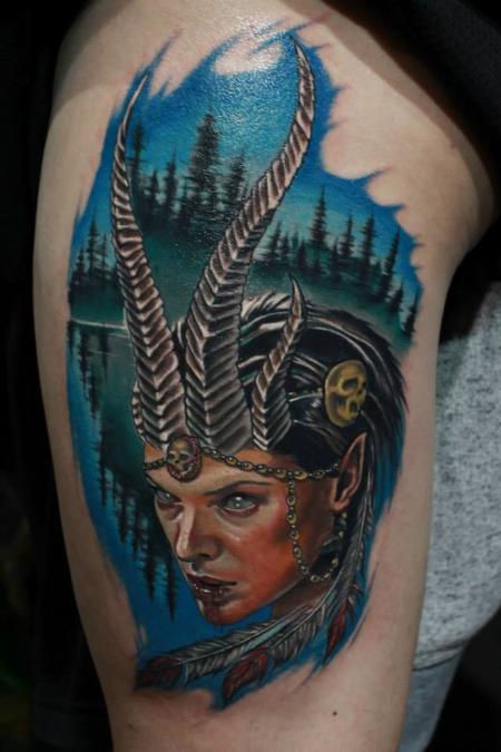 Tattoos - Demon girl - 82392