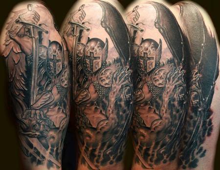 Tattoos - St. Michael - 82395
